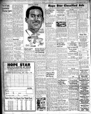 Hope Star from Hope, Arkansas on January 16, 1959 · Page 4