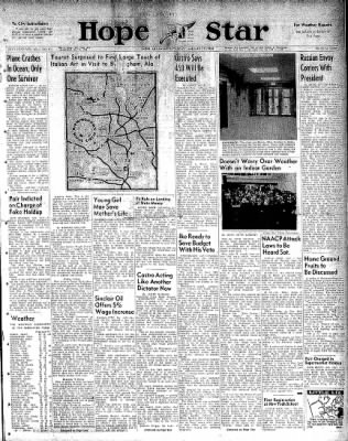 Hope Star from Hope, Arkansas on January 17, 1959 · Page 1