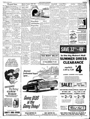 Alton Evening Telegraph from Alton, Illinois on July 9, 1963 · Page 5
