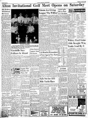 Alton Evening Telegraph from Alton, Illinois on July 12, 1963 · Page 12
