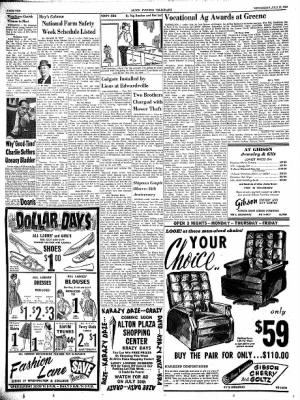 Alton Evening Telegraph from Alton, Illinois on July 17, 1963 · Page 9