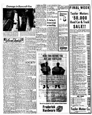 Kossuth County Advance from Algona, Iowa on April 15, 1965 · Page 4