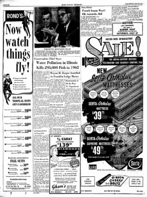 Alton Evening Telegraph from Alton, Illinois on July 24, 1963 · Page 6