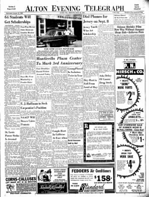 Alton Evening Telegraph from Alton, Illinois on July 29, 1963 · Page 11