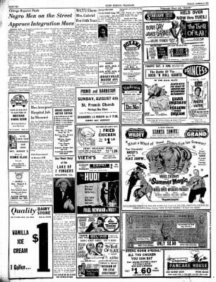 Alton Evening Telegraph from Alton, Illinois on August 2, 1963 · Page 10