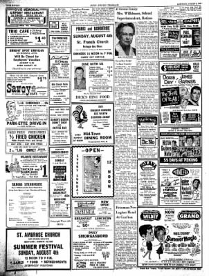 Alton Evening Telegraph from Alton, Illinois on August 3, 1963 · Page 16