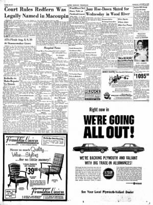 Alton Evening Telegraph from Alton, Illinois on August 6, 1963 · Page 8