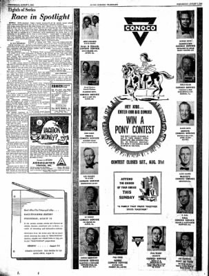 Alton Evening Telegraph from Alton, Illinois on August 7, 1963 · Page 16
