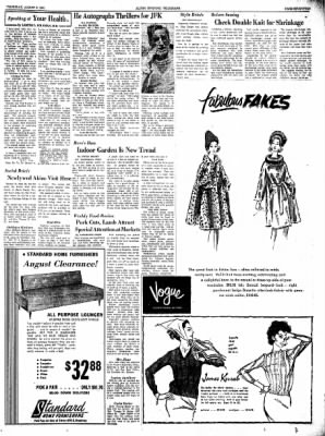 Alton Evening Telegraph from Alton, Illinois on August 8, 1963 · Page 17