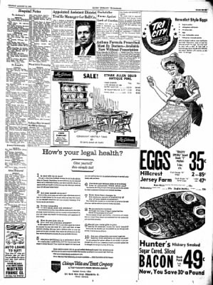 Alton Evening Telegraph from Alton, Illinois on August 12, 1963 · Page 7