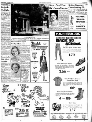 Alton Evening Telegraph from Alton, Illinois on August 14, 1963 · Page 7