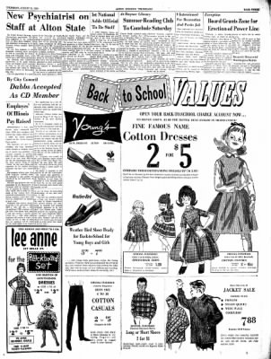 Alton Evening Telegraph from Alton, Illinois on August 15, 1963 · Page 3