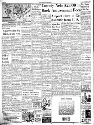 Alton Evening Telegraph from Alton, Illinois on August 16, 1963 · Page 2