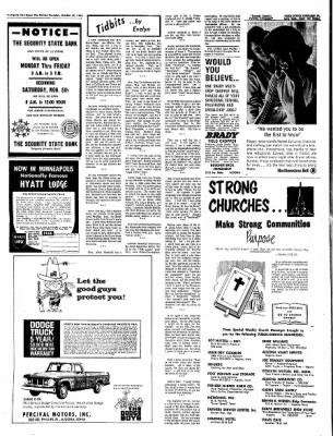 The Algona Upper Des Moines from Algona, Iowa on October 27, 1966 · Page 16