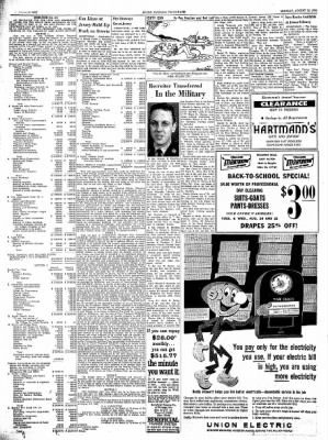 Alton Evening Telegraph from Alton, Illinois on August 19, 1963 · Page 22