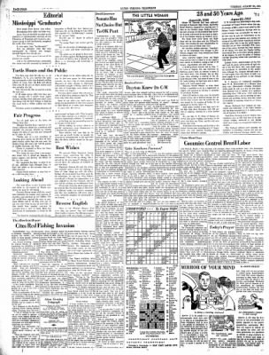 Alton Evening Telegraph from Alton, Illinois on August 20, 1963 · Page 4