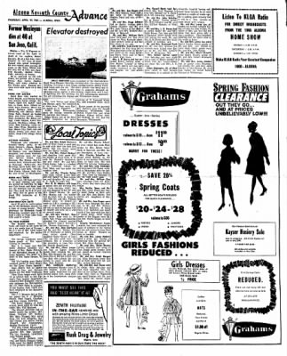 Kossuth County Advance from Algona, Iowa on April 22, 1965 · Page 7