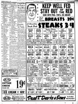 Alton Evening Telegraph from Alton, Illinois on August 29, 1963 · Page 28