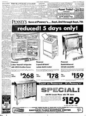 Alton Evening Telegraph from Alton, Illinois on September 3, 1963 · Page 12