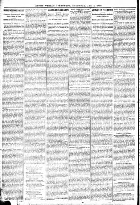 Alton Telegraph from Alton, Illinois on January 4, 1900 · Page 6