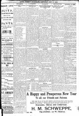 Alton Telegraph from Alton, Illinois on January 11, 1900 · Page 3