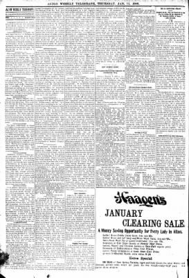 Alton Telegraph from Alton, Illinois on January 11, 1900 · Page 6
