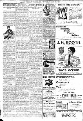 Alton Telegraph from Alton, Illinois on January 11, 1900 · Page 12