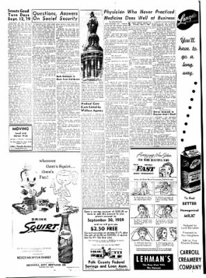 Carrol Daily Times Herald from Carroll, Iowa on September 3, 1959 · Page 5