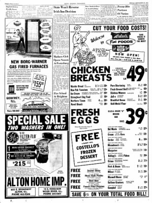Alton Evening Telegraph from Alton, Illinois on September 13, 1963 · Page 22