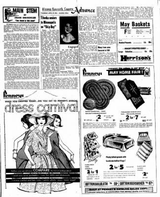 Kossuth County Advance from Algona, Iowa on April 29, 1965 · Page 9