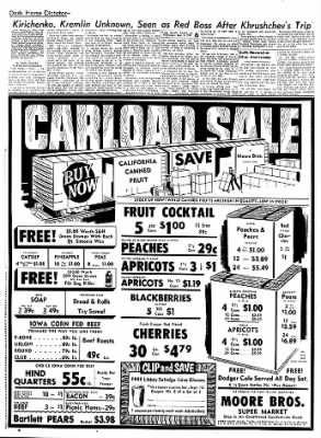 Carrol Daily Times Herald from Carroll, Iowa on September 9, 1959 · Page 6