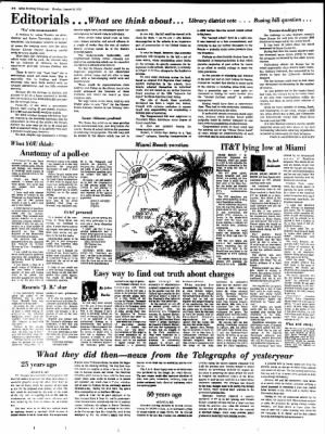 Alton Evening Telegraph from Alton, Illinois on August 21, 1972 · Page 4