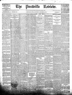 The Postville Review from Postville, Iowa on October 24, 1891 · Page 1