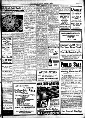 Postville Herald from Postville, Iowa on November 5, 1947 · Page 7