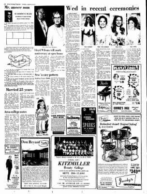 Alton Evening Telegraph from Alton, Illinois on August 22, 1972 · Page 8