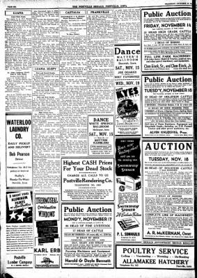 Postville Herald from Postville, Iowa on November 12, 1947 · Page 6