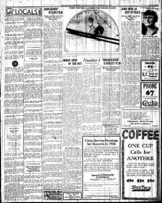 Iola Daily Register And Evening News from Iola, Kansas on February 19, 1927 · Page 3