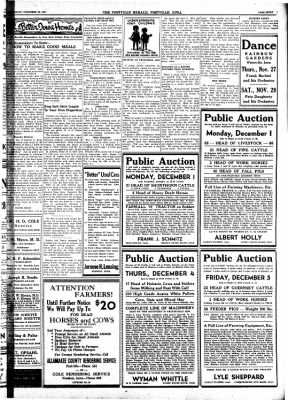 Postville Herald from Postville, Iowa on November 26, 1947 · Page 7