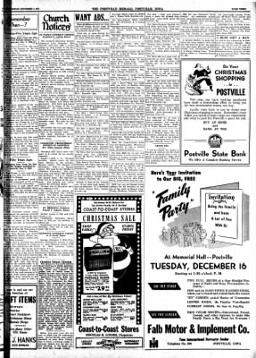 Postville Herald from Postville, Iowa on December 3, 1947 · Page 2