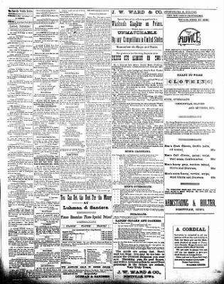 The Postville Review from Postville, Iowa on December 5, 1891 · Page 3