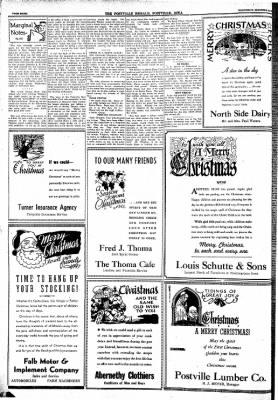 Postville Herald from Postville, Iowa on December 24, 1947 · Page 8