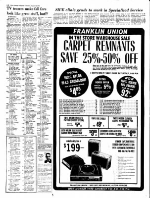 Alton Evening Telegraph from Alton, Illinois on August 24, 1972 · Page 17