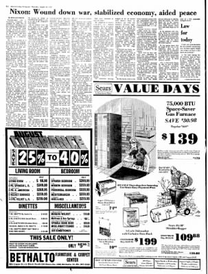 Alton Evening Telegraph from Alton, Illinois on August 24, 1972 · Page 19
