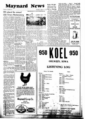Fayette County Leader from Fayette, Iowa on August 17, 1961 · Page 4