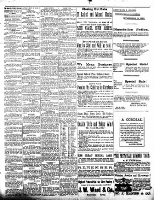 The Postville Review from Postville, Iowa on January 9, 1892 · Page 3