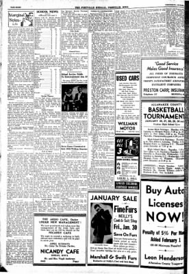 Postville Herald from Postville, Iowa on January 21, 1948 · Page 8