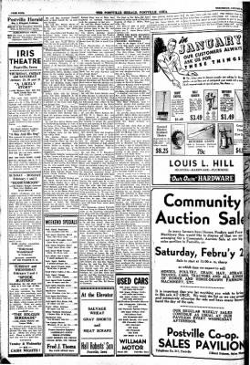 Postville Herald from Postville, Iowa on January 28, 1948 · Page 4