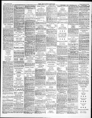 The Decatur Daily Review From Decatur Illinois On December 19 1947