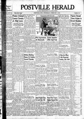 Postville Herald from Postville, Iowa on February 4, 1948 · Page 1