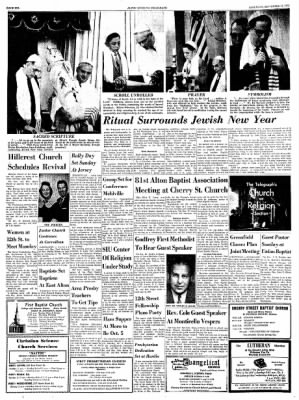 Alton Evening Telegraph from Alton, Illinois on September 21, 1963 · Page 6